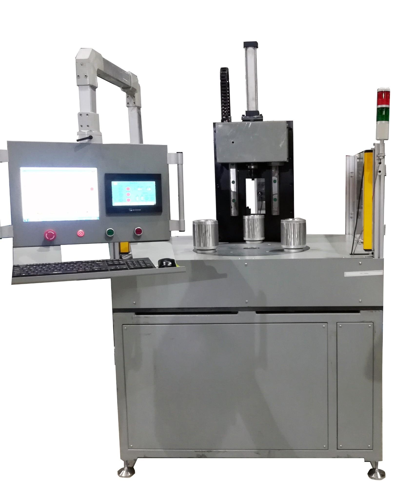 尼格转盘式铸铝转子测试仪演示